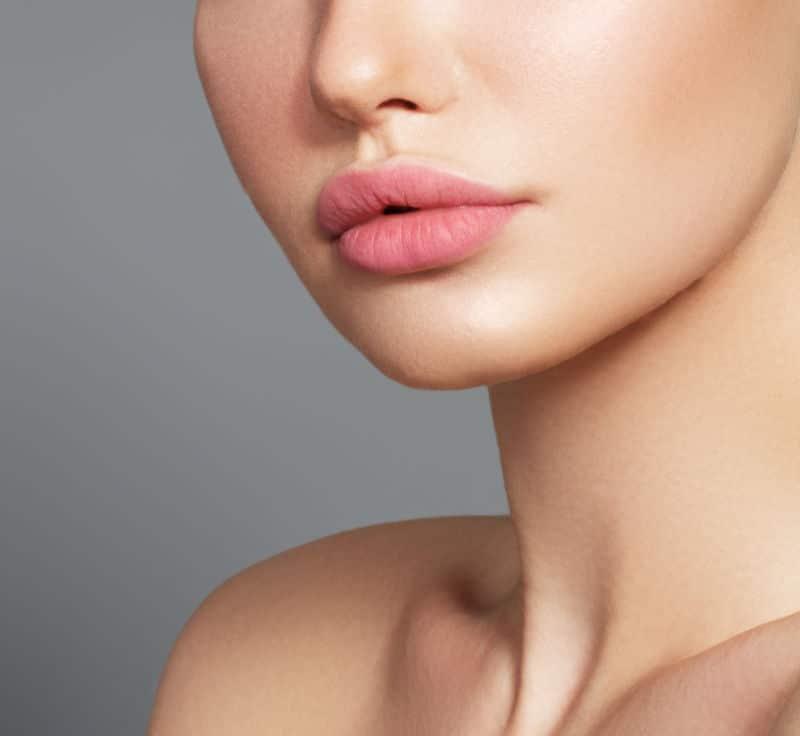semi permanent lip blush tattoo